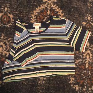 Cropped Talbots shirt